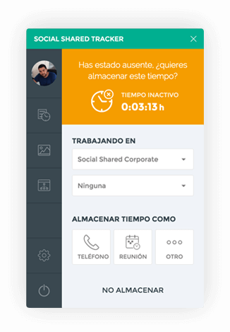 SocialShared Tracker